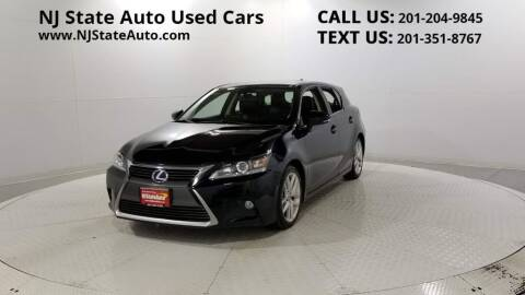 2014 Lexus CT 200h for sale at NJ State Auto Auction in Jersey City NJ