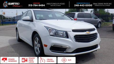 2016 Chevrolet Cruze Limited for sale at Quattro Motors 2 in Farmington Hills MI
