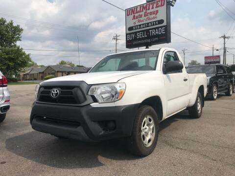 2012 Toyota Tacoma for sale at Unlimited Auto Group in West Chester OH