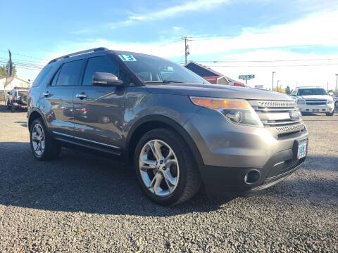2013 Ford Explorer for sale at Universal Auto Sales in Salem OR