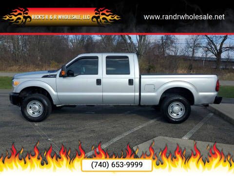 2014 Ford F-250 Super Duty for sale at Rick's R & R Wholesale, LLC in Lancaster OH