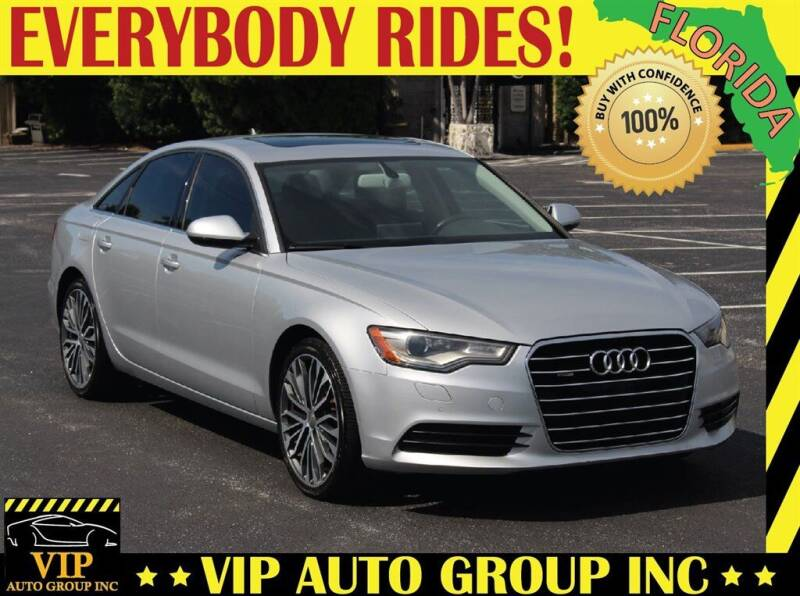 2014 Audi A6 for sale at VIP Auto Group in Clearwater FL