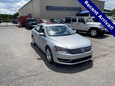 2014 Volkswagen Passat for sale at Vorderman Imports in Fort Wayne IN