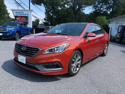 2015 Hyundai Sonata for sale at Sports & Imports in Pasadena MD