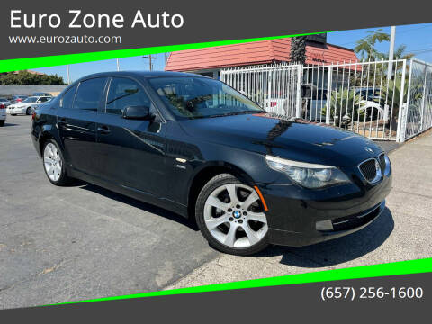 2009 BMW 5 Series for sale at Euro Zone Auto in Stanton CA
