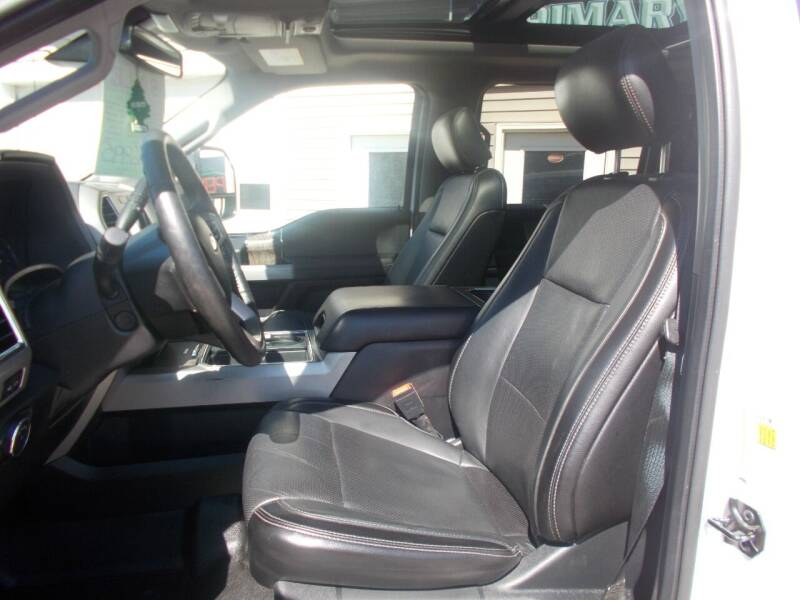 2018 Ford F-350 Super Duty 4x4 Lariat 4dr Crew Cab 6.8 ft. SB SRW Pickup - Sabattus ME