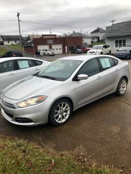 2013 Dodge Dart for sale at Stephen Motor Sales LLC in Caldwell OH