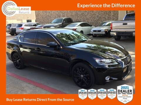 2015 Lexus GS 350 for sale at Dallas Auto Finance in Dallas TX
