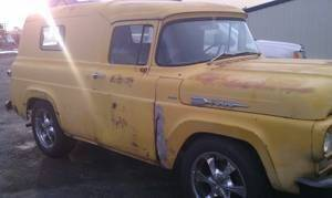 1960 Ford Panel Truck for sale at Classic Car Deals in Cadillac MI