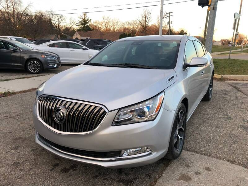 2016 Buick LaCrosse for sale at One Price Auto in Mount Clemens MI