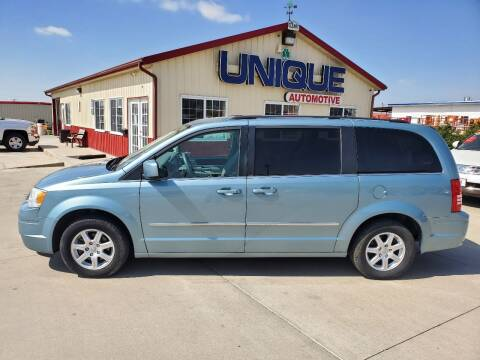 "2010 Chrysler Town and Country for sale at UNIQUE AUTOMOTIVE ""BE UNIQUE"" in Garden City KS"
