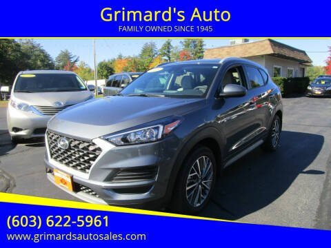 2019 Hyundai Tucson for sale at Grimard's Auto in Hooksett, NH