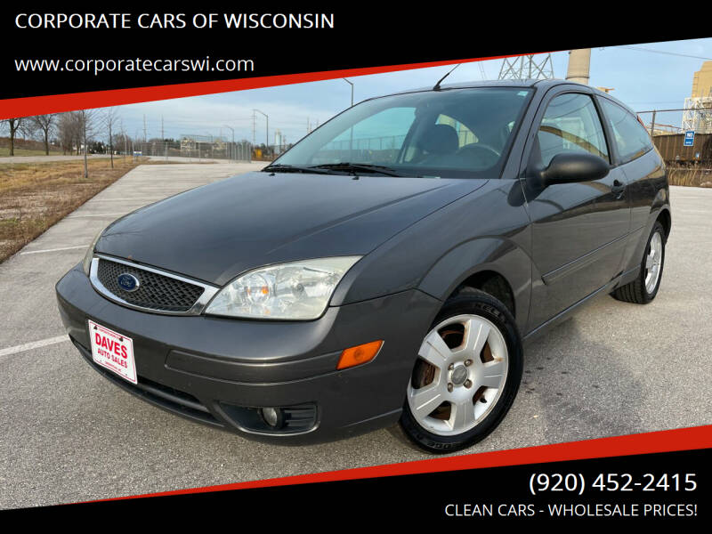 2005 Ford Focus for sale at CORPORATE CARS OF WISCONSIN - DAVES AUTO SALES OF SHEBOYGAN in Sheboygan WI