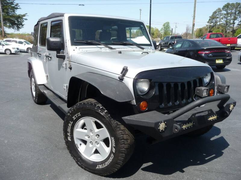 2007 Jeep Wrangler Unlimited for sale at Wade Hampton Auto Mart in Greer SC