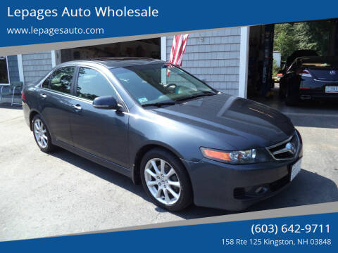 2006 Acura TSX for sale at Lepages Auto Wholesale in Kingston NH