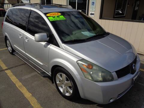 2004 Nissan Quest for sale at BBL Auto Sales in Yakima WA