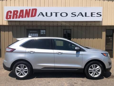 2017 Ford Edge for sale at GRAND AUTO SALES in Grand Island NE