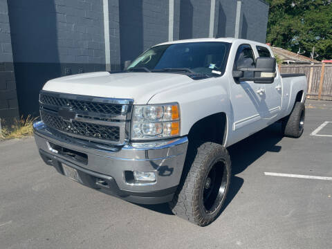 2012 Chevrolet Silverado 2500HD for sale at APX Auto Brokers in Lynnwood WA