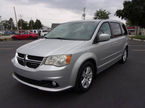 2012 Dodge Grand Caravan for sale at Ideal Auto Sales, Inc. in Waukesha WI