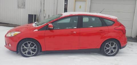 2014 Ford Focus for sale at Superior Motors in Mount Morris MI