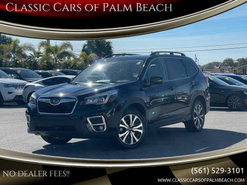 2019 Subaru Forester for sale at Classic Cars of Palm Beach in Jupiter FL