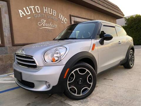 2013 MINI Paceman for sale at Auto Hub, Inc. in Anaheim CA