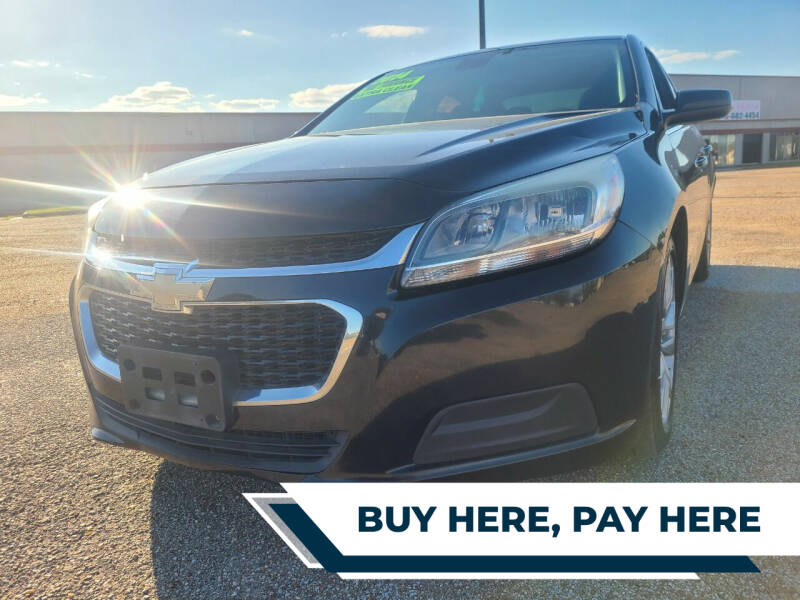 2014 Chevrolet Malibu for sale at Auto District in Baytown TX