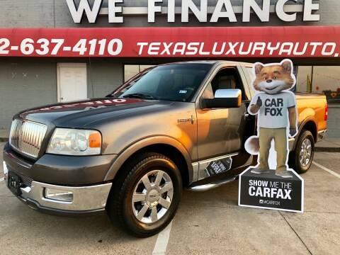 2006 Lincoln Mark LT for sale at Texas Luxury Auto in Cedar Hill TX