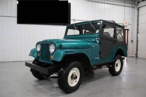 1968 Jeep CJ6 for sale at Classic Car Deals in Cadillac MI