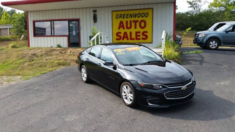 2018 Chevrolet Malibu for sale at Greenwood Auto Sales in Greenwood AR