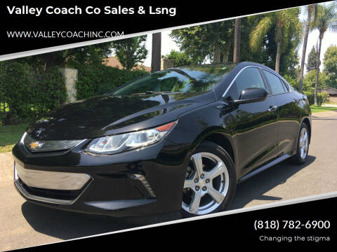 2018 Chevrolet Volt for sale at Valley Coach Co Sales & Lsng in Van Nuys CA