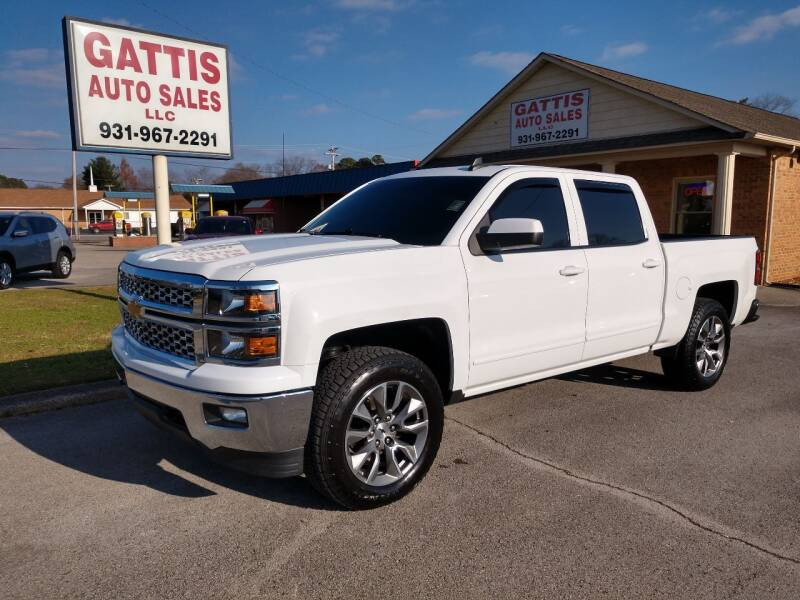 2015 Chevrolet Silverado 1500 for sale at Gattis Auto Sales LLC in Winchester TN