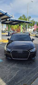 2018 Audi A3 for sale at CHASE MOTOR in Miami FL