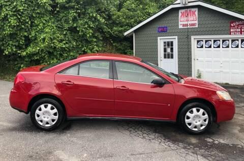 2007 Pontiac G6 for sale at KMK Motors in Latham NY