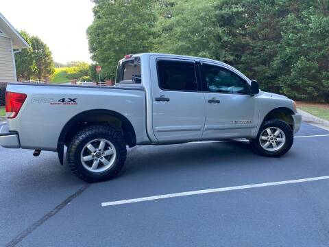 2008 Nissan Titan for sale at Paramount Autosport in Kennesaw GA