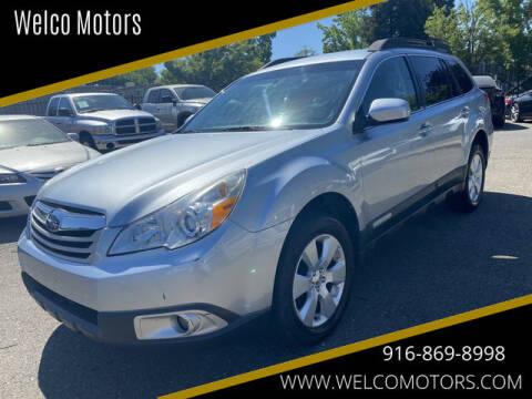 2012 Subaru Outback for sale at Welco Motors in Rancho Cordova CA