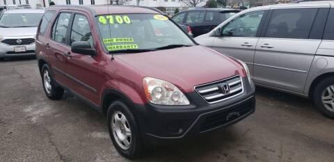 2005 Honda CR-V for sale at TC Auto Repair and Sales Inc in Abington MA