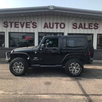 2012 Jeep Wrangler for sale at STEVE'S AUTO SALES INC in Scottsbluff NE
