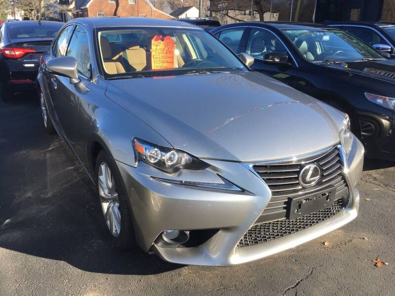 2014 Lexus IS 250 for sale at MELILLO MOTORS INC in North Haven CT