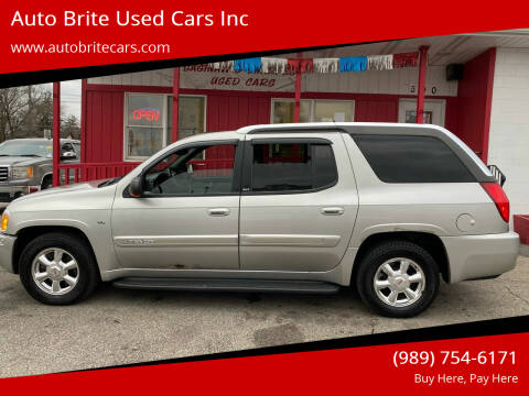 2004 GMC Envoy XUV for sale at Auto Brite Used Cars Inc in Saginaw MI