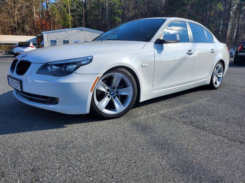 2008 BMW 5 Series for sale at Brown's Used Auto in Belmont NC