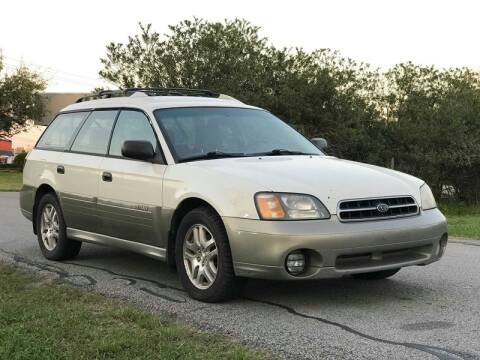 2002 Subaru Outback for sale at Loco Motors in La Porte TX