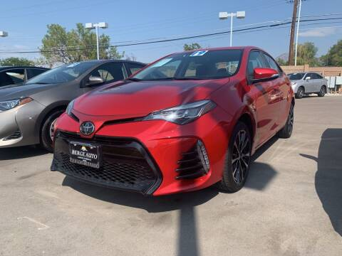 2019 Toyota Corolla for sale at Berge Auto in Orem UT