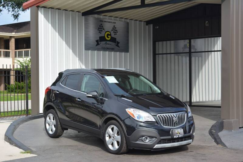 2016 Buick Encore for sale at G MOTORS in Houston TX