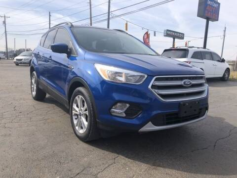 2017 Ford Escape for sale at Instant Auto Sales in Chillicothe OH