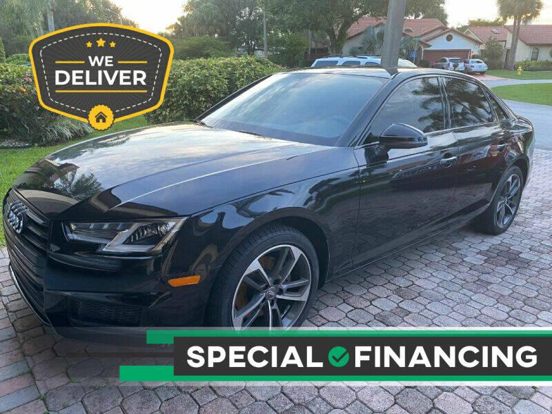 2019 Audi A4 for sale at Car Girl 101 in Oakland Park FL