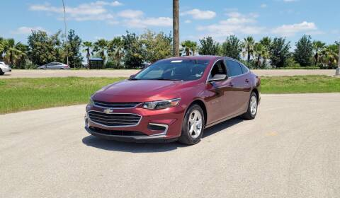 2016 Chevrolet Malibu for sale at FLORIDA USED CARS INC in Fort Myers FL