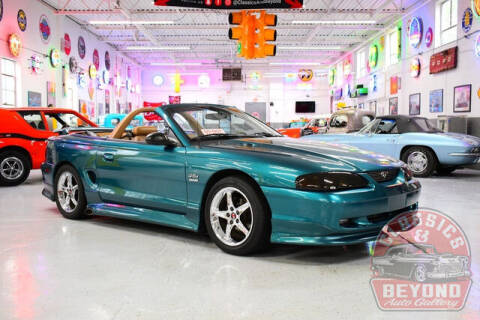 1998 Ford Mustang for sale at Classics and Beyond Auto Gallery in Wayne MI