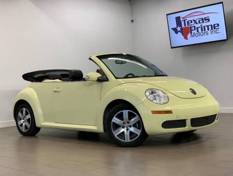 2006 Volkswagen New Beetle for sale at Texas Prime Motors in Houston TX