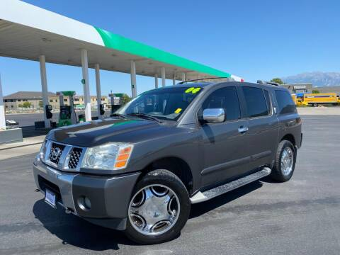 2004 Nissan Armada for sale at Evolution Auto Sales LLC in Springville UT